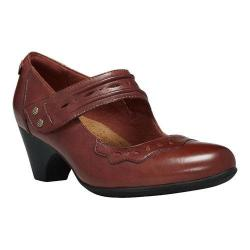 Women's Rockport Demi Mary Jane Red Leather