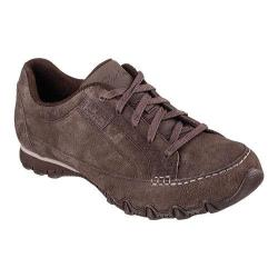 Women's Skechers Relaxed Fit Bikers Curbed Oxford Chocolate