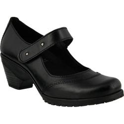 Women's Spring Step Artyom Mary Jane Black Leather