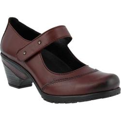 Women's Spring Step Artyom Mary Jane Bordeaux Leather