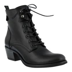 Women's Spring Step Nario Bootie Black Leather