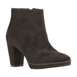 Women's Walking Cradles Tenacious Bootie Black Hair Calf