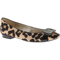 Women's Anne Klein Elonie Ballet Flat Leopard Pony Hair