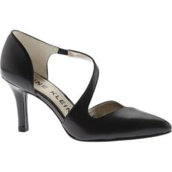 Women's Anne Klein Frankly D'Orsay Pump Black Leather