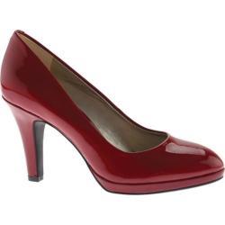Women's Anne Klein Lolana Pump Red Leather