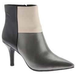 Women's Anne Klein Yarisol Bootie Pewter Leather
