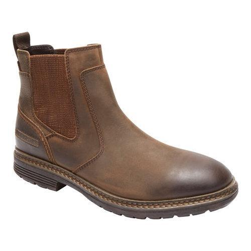 Shop Men S Rockport Urban Retreat Chelsea Boot Bruin