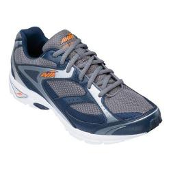 Men's Avia Avi-Execute Sneaker Steel Grey/True Navy/Chrome Silver/Rhythm Orange