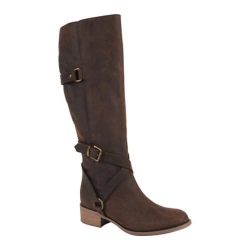 3c919adf025 Shop Women s Charles David Germana Riding Boot Brown Pull Up Leather - Free  Shipping On Orders Over  45 - Overstock - 13232795