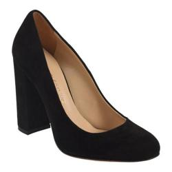 Women's Charles David Delta Pump Black Suede