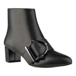 Women's Nine West Konah Bootie Black Leather