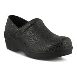 Women's Spring Step Neppie Clog Black Roses Synthetic|https://ak1.ostkcdn.com/images/products/131/277/P19948990.jpg?impolicy=medium