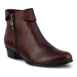 Women's Spring Step Stockholm Bordeaux Leather