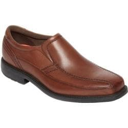 Men's Rockport Style Leader 2 Bike Slip On Truffle Tan Full Grain Leather