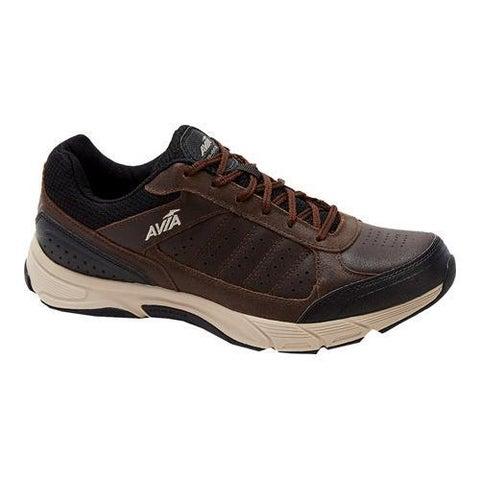 Men's Avia Avi-Venture Walking Shoe Dark Chestnut/Black/Stone Taupe