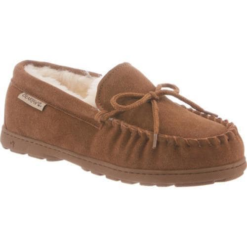 Shop Damens's Bearpaw Mindy Moccasin Slipper Hickory Hickory Hickory II On Sale ... 221477