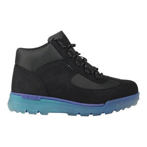 Men's Lugz Flank Hiking Boot Black/Sapphire/Teal/Clear Durabrush - Thumbnail 1