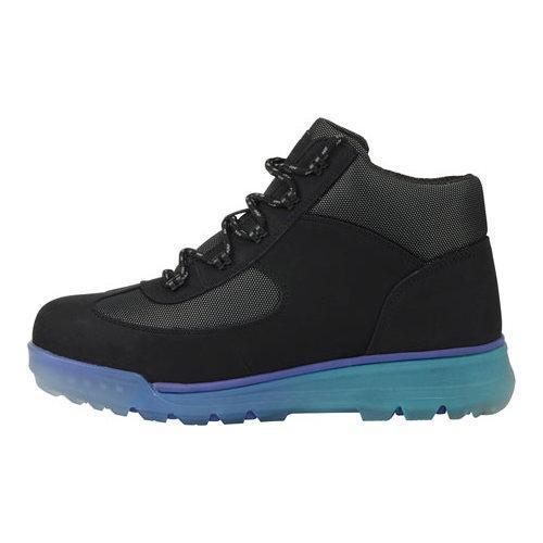 Men's Lugz Flank Hiking Boot Black/Sapphire/Teal/Clear Durabrush - Thumbnail 2