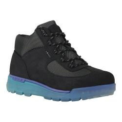 Men's Lugz Flank Hiking Boot Black/Sapphire/Teal/Clear Durabrush