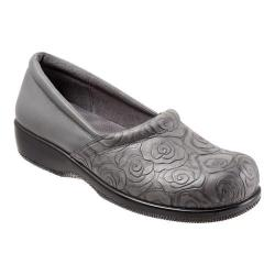 Women's SoftWalk Adora Grey Rose Embossed/Soft Nappa Leather/Lycra