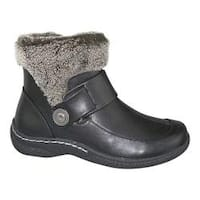 Women's Wanderlust Bel Cold-Weather Bootie Black Polyurethane