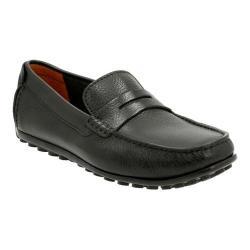 Men's Clarks Hamilton Way Penny Loafer Black Leather