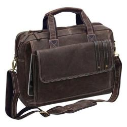 Preferred Nation P6836 Tuscany Computer Briefcase Brown