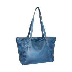Women's Nino Bossi Hibiscus Bud Tote Handbag Denim