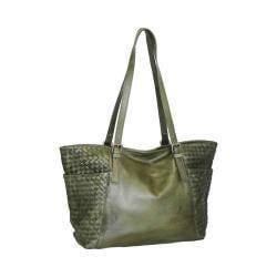 Women's Nino Bossi Hibiscus Bud Tote Handbag Green
