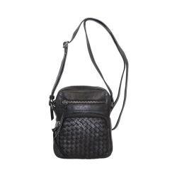 Women's Nino Bossi Hydrangea Bloom Cross Body Bag Black