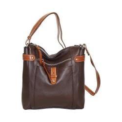 Women's Nino Bossi Jasmine Bloom Cross Body Bag Chocolate