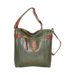 Women's Nino Bossi Jasmine Bloom Cross Body Bag Green