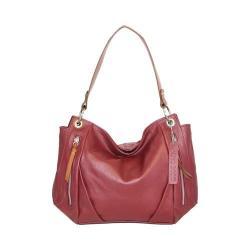 Women's Nino Bossi Lilac Bloom Shoulder Bag Cabernet