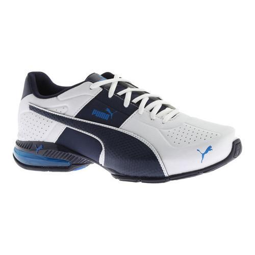 4799f19f654e Shop Men s PUMA Cell Surin 2 FM Sneaker Puma White Peacoat Electric Blue  Lemonade - Free Shipping Today - Overstock - 13318923