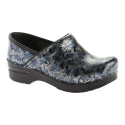 Women's Shoes Dansko Professional Tooled Black Womens Leather Slip On Clogs Shoes Save 50-70%