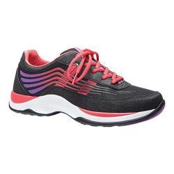 Women's Dansko Shayla Sneaker Black/Hot Pink Smooth