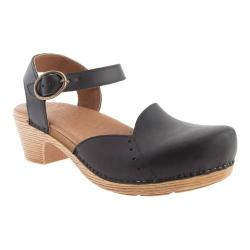 Women's Dansko Maisie Sandal Black Full Grain