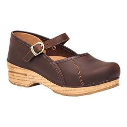 Women's Dansko Marcelle Mary Jane Antique Brown Oiled