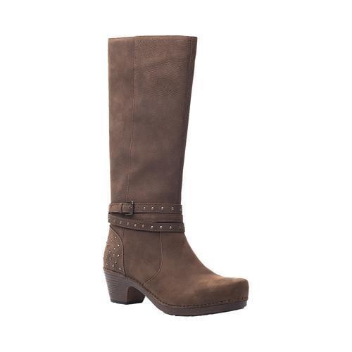 abe0a5ec3f0d Shop Women s Dansko Myra Boot Brown Milled Nubuck - Free Shipping Today -  Overstock - 13345797