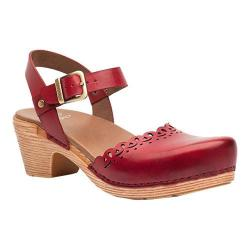 Women's Dansko Marta Sandal Red Full Grain