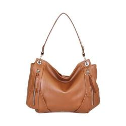 Women's Nino Bossi Lilac Bloom Shoulder Bag Cognac