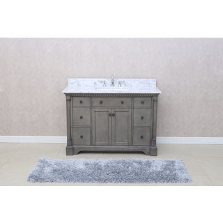 'Stella' 49-inch Double Bathroom Vanity Set