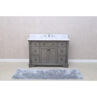 'Stella' 49-inch Double Bathroom Vanity Set