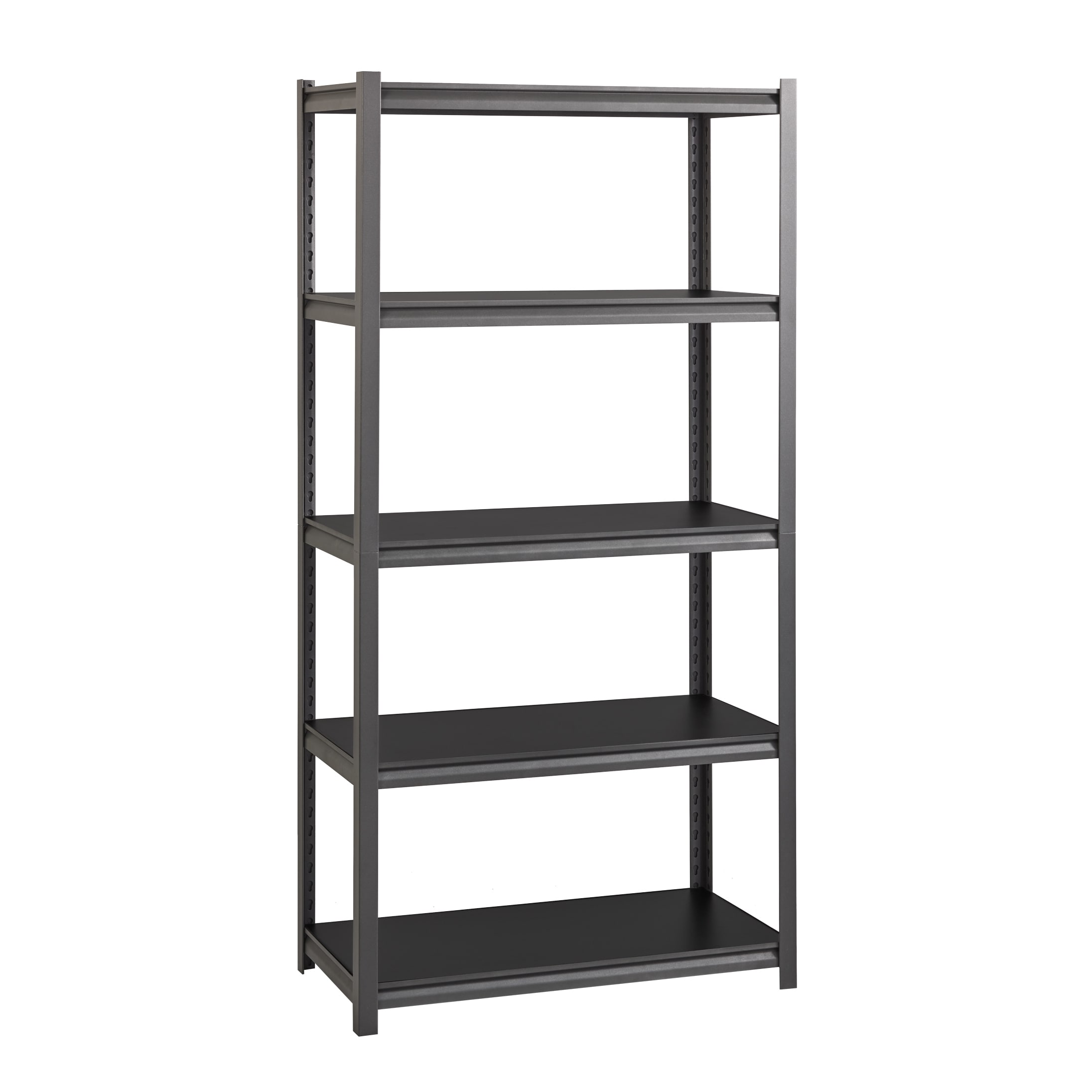 Iron Horse Gunmetal 3 200 Lb Shelving W Concealed Rivets On Sale Overstock 13102305