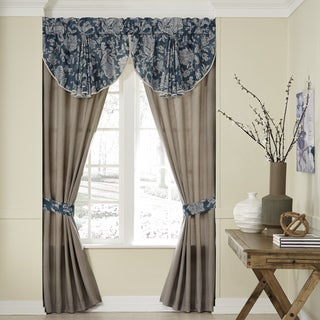 Croscill Gavin Pole Top Window Curtain Panel Pair