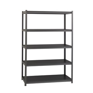 Heavy Duty Iron Horse 18 in. Deep x 48 in. Wide x 72 in. High 3200 lb. Metal Rivet Sturdy Storage Shelving