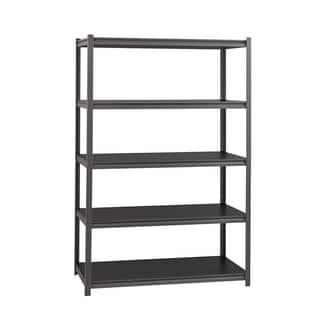 Heavy Duty Iron Horse 18 in. Deep x 48 in. Wide x 72 in. High 3200 lb. Metal Rivet Sturdy Storage Shelving|https://ak1.ostkcdn.com/images/products/13102509/P19833136.jpg?impolicy=medium