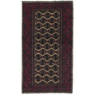eCarpetGallery Kazak Red/Brown Wool Hand-knotted Rug (2'10 x 5')
