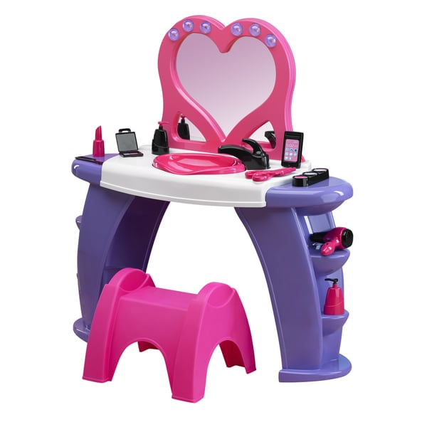 American Plastic Toys Deluxe Beauty Salon - Pink