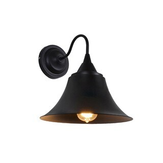 Retro Style Wall Sconce with Bell-shape Shade